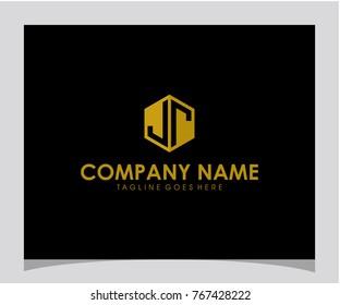 JR initial letter logo vector
