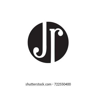 JR Letter Monogram