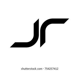 jr logo black vector