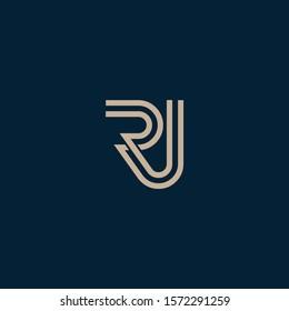 JR or RJ logo and icon designs