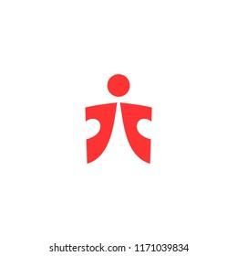 jt letter logo vector