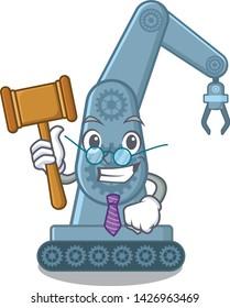 Judge toy mechatronic robot arm cartoon shape