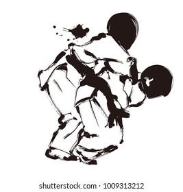 judo  martial sport