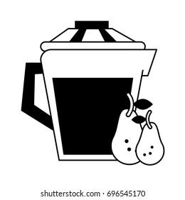 jug with beverage icon image