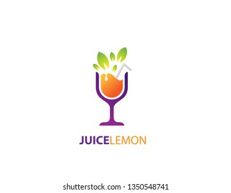 Juice lemon logo