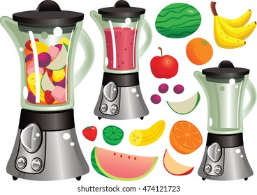 Juicer machine.