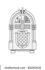 Jukebox vector illustration/EPS 10