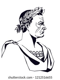 Julius Caesar Vector Illustration