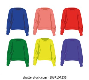 jumper different colors set