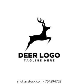 Jumping deer logo