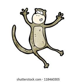 jumping monkey cartoon