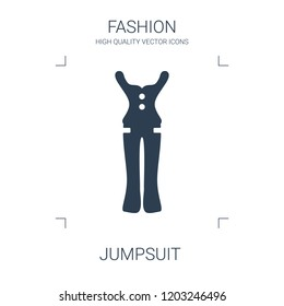 jumpsuit icon. high quality filled jumpsuit icon on white background. from fashion collection flat trendy vector jumpsuit symbol. use for web and mobile