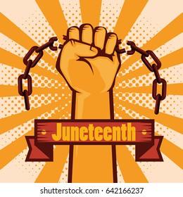 Juneteenth awareness design