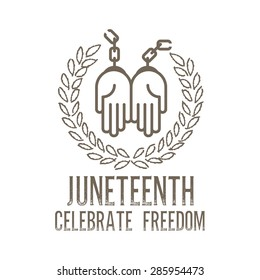 juneteenth day background