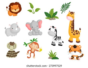jungle animals images stock photos vectors shutterstock