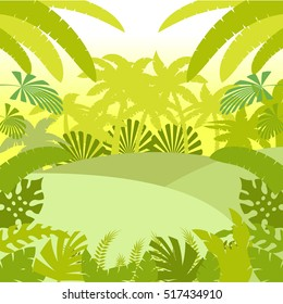 Jungle Flat Background2