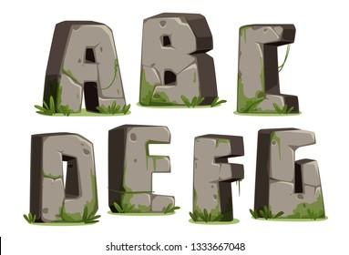 Jungle font Part 1