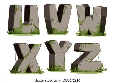 Jungle font Part 4