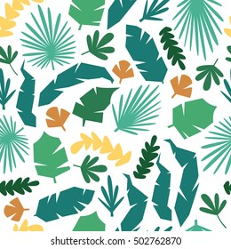 jungle pattern vector seamless background