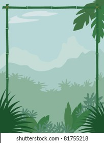Jungle Themed Background