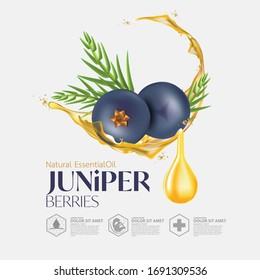 Juniper Berry  Essential Oils for skincare