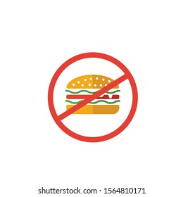 Junk Food icon. Simple flat element from fitness collection. Creative junk food icon for templates, software and apps.