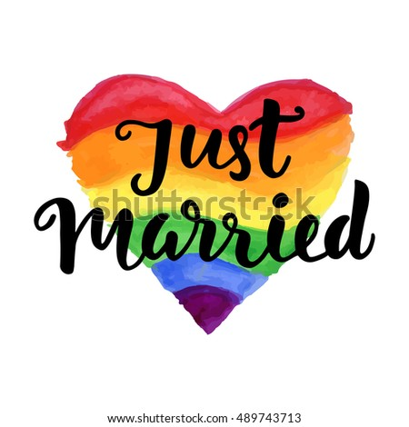 Just married gay
