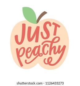 Just Peachy illustration
