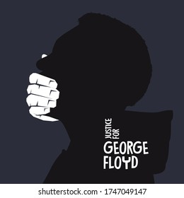 Justice for george floyd. Human, live.