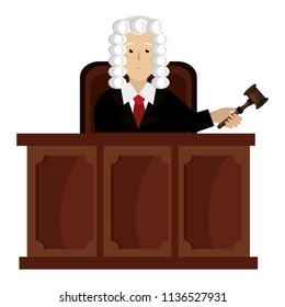 justice judge on stage character