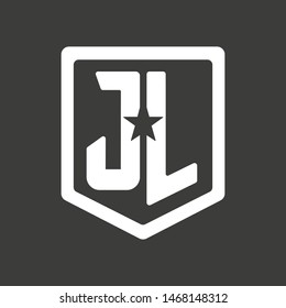 Justice League icon. Vector illustration. EPS 10.