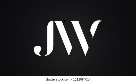 jw logo images stock photos vectors shutterstock