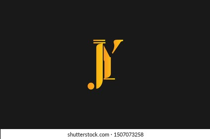 JY letter Logo Design Template Vector