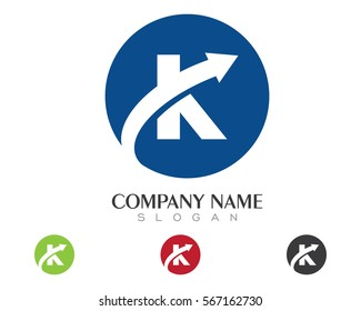 K Letter Logo Business Template Vector icon
