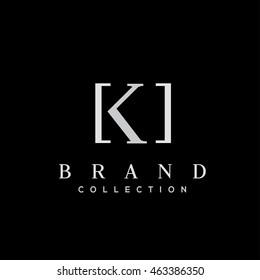 K letter vector logo design (sign, symbol, icon, emblem)