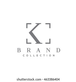 K letter vector logo design (sign, symbol, icon, emblem)