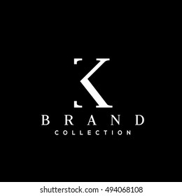K letter vector logo design template. Business logo. Minimalistic brand identity