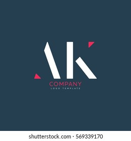 A K logo design for Corporate