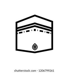 Kaab Mecca vector icon