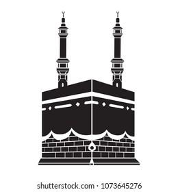 Kaaba logo vector drawn
