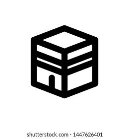 kabah icon images stock photos vectors shutterstock https www shutterstock com image vector kabah icon line style any purpose 1447626401