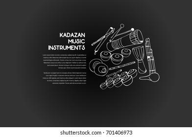 Kadazan Traditional Music Instruments