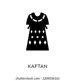 Kaftan icon. Kaftan symbol design from Clothes collection. Simple element vector illustration on white background.