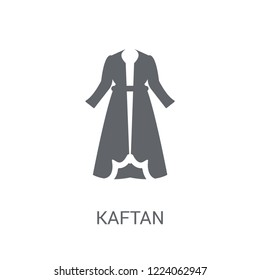 Kaftan icon. Trendy Kaftan logo concept on white background from Clothes collection. Suitable for use on web apps, mobile apps and print media.