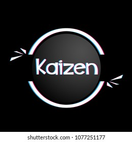 kaizen has mean spirit icon for holiday