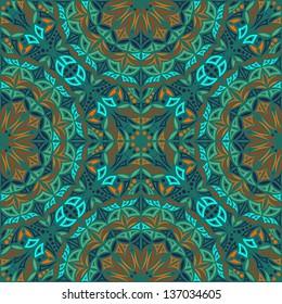 Kaleidoscope. Vector seamless background