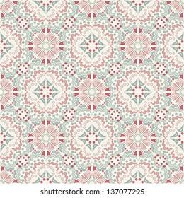 kaleidoscope, vector seamless pattern