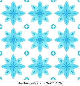 Kaleidoscope Vector Seamless Pattern Design