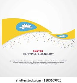 Kalmykia Happy independence day Background