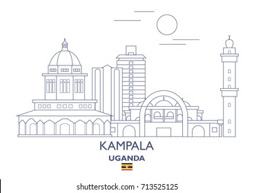 Kampala Linear City Skyline, Uganda